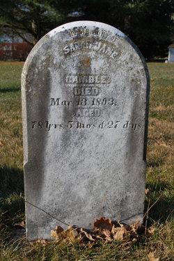 Sarah Jane Gamble