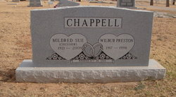 Mildred Sue <i>Chesshir</i> Chappell