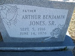Arthur Benjamin Jones, Sr.