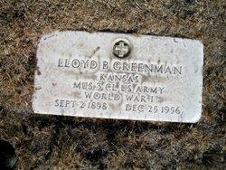 Lloyd Barcus Greenman