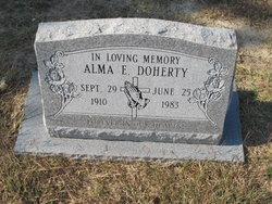 Alma Edna <i>Lankford</i> Doherty