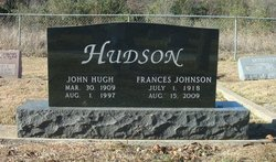 Frances Edith <i>Johnson</i> Hudson