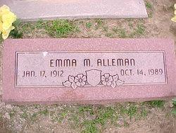 Emma M. Alleman