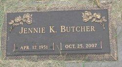 Jennie Kathleen <i>Kinney</i> Butcher