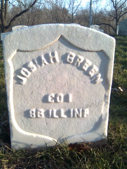 Pvt Josiah Green
