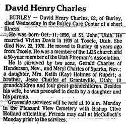 David Henry Charles