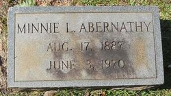 Minnie Lee <i>Langford</i> Abernathy