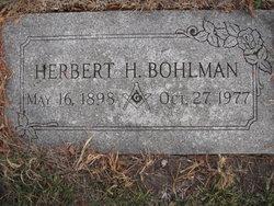 Herbert Henry Bohlman