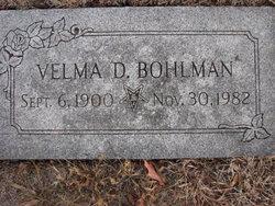 Velma A. <i>Delong</i> Bohlman