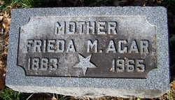 Frieda M. Agar