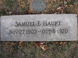 Samuel Edgar Sam Haupt