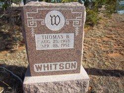 Thomas B Whitson