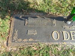 Virginia Dale <i>Snyder</i> O'Dell