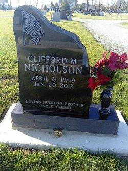 Clifford M Cliff Nicholson