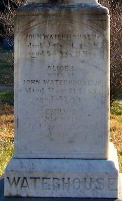 Emily Caroline <i>Raymond</i> Waterhouse