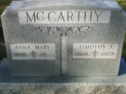Anna Mary McCARTHY