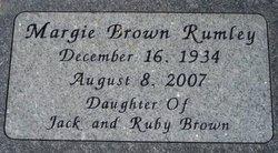 Margie <i>Brown</i> Rumley