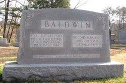 Sarah Caroline Callie <i>Bellamy</i> Baldwin