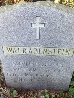 Frederick August Wilhelm William Wallrabenstein
