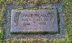 Opal E. Nichols