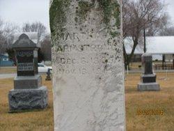 Martha Ann <i>Hollenback</i> Armstrong