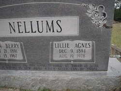 Lille Agnes <i>Steagall</i> Nellums