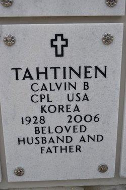Corp Calvin B Tahtinen