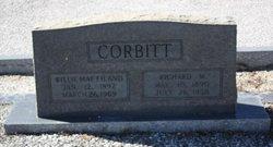 Willie May <i>Eiland</i> Corbitt
