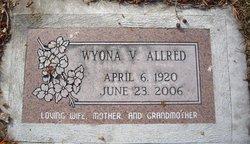 Wyona Virginia <i>Anderson</i> Allred