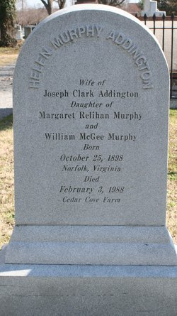 Helen <i>Murphy</i> Addington