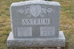 Mrs Mattie <i>Emanuel</i> Antrum