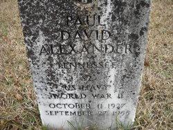Paul David Alexander