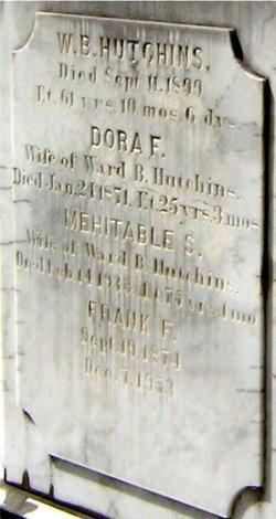 Dorothy Farrington Dora <i>Walker</i> Hutchins