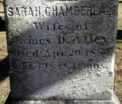 Sarah <i>Chamberlain</i> Alley