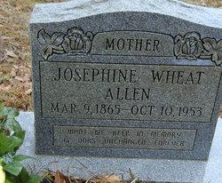 Josephine P <i>Wheat</i> Allen
