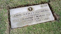 PFC John Wesley Clement