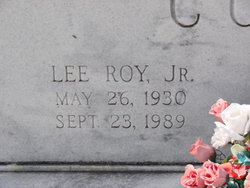 Lee Roy Cook, Jr