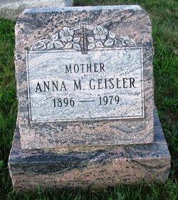 Mrs Anna M. Annie <i>Pohrer</i> Geisler