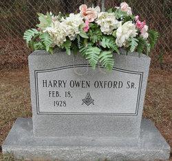 Harry Owen Oxford, Sr