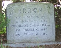 Carrie May <i>Haigh</i> Brown