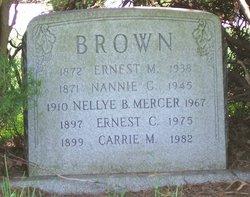 Nannie <i>Connover</i> Brown
