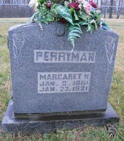 Margaret N. <i>Hall</i> Perryman