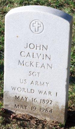 John Calvin McKean