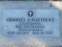 Charles J Matthews