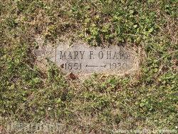 Mary F <i>Cliff</i> O'Hara