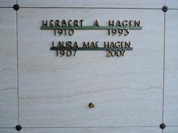 Laura Mae Frances <i>Stowell</i> Hagen