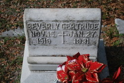 Beverly Gertrude Davis