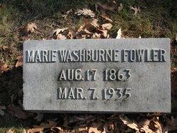 Marie <i>Washburne</i> Fowler