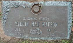 Millie Mae Matson