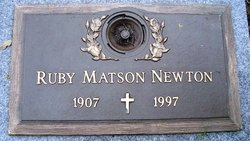 Ruby <i>Matson</i> Newton